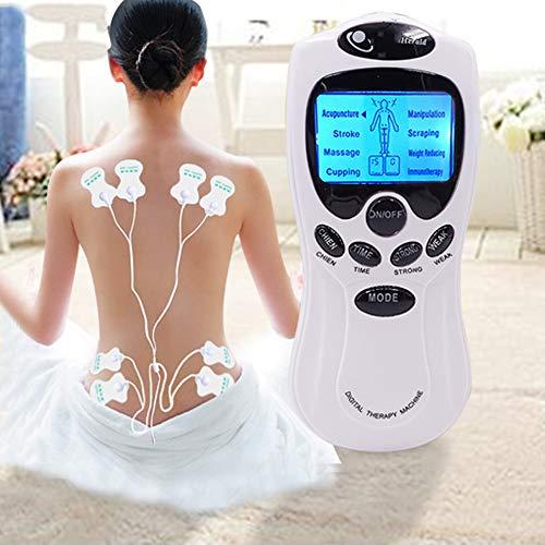 YUOCEAN Electroestimulador Digital Masaje EMS TENS Portatil, 8 Modos Estimulador Muscular Recargable...