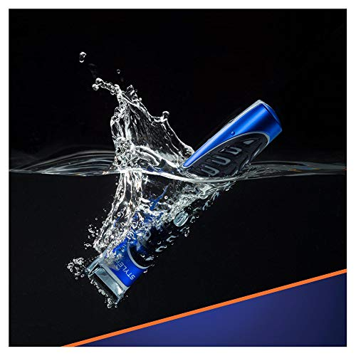 Gillette Fusion ProGlide Styler Rasoio a Batteria con Regolabarba, Regola, Rade e Rifinisce, con 1 Lametta di Ricambio - 6