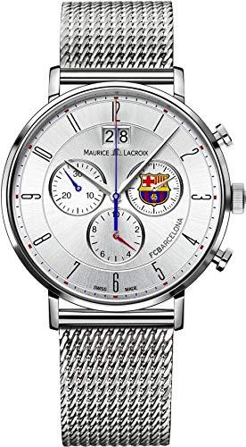 Maurice Lacroix Eliros FC Barcelona EL1088-SS002-120 Chronographe pour homme Avec bracelet complémentaire