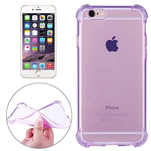 Phone Case Coque cover, Pour iPhone 6 Plus / 6s Plus, coussin anti-chocs TPU Housse de protection ( Color : Purple ) Purple