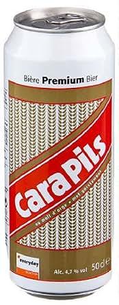 Original Belgisches Bier - Cara Pils 24x500ml. Dosen.