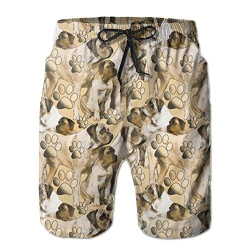 IconSymbol Die Strand-Hosen der neuen Mastiff-Gewebe-Bild-Männer, Kurze Hosen Strand-Kurze Hosen-Badehose - Herren Carpenter Jeans Kurze