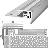 Treppenkantenprofil Alu PS 400 silber 30x25x1000mm
