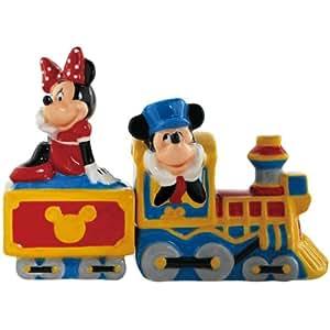 Salière et Poivrière–Disney–Mickey/Minnie Choo Choo New Toys 18932