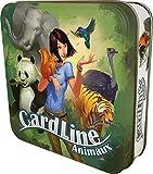Asmodee - CARANIM01 - Cardline Animaux - Version Mtal - Jeu Enfants