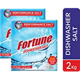 Fortune Dishwasher Salt - 2 Kg - Compatible with All Dishwasher Brands