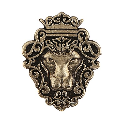 Tripin Lion Shape Tie Tack Lapel Pin Brooch For Men In A...