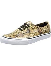 Vans U AUTHENTIC (SNAKE) GOLD - Zapatillas de lona unisex