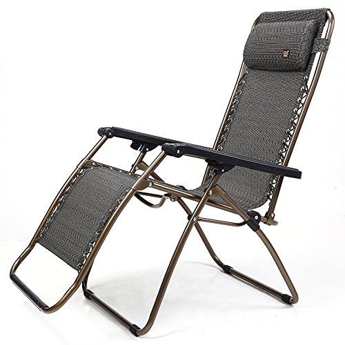 LHA Chaise Longue Pliante Chaise de Bureau Bureau déjeuner Pause été Cool Chaise Zhendong été Loisirs Chaise Haute Femme Enceinte Balcon Portable