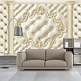 Tapete,Luxus Strass Klassische Foto Wand Papier Wohnkultur Tapete 3D Wandbild Tapeten Landschaft Wohnzimmer Papel Parede Sala Rolo,300 * 210cm