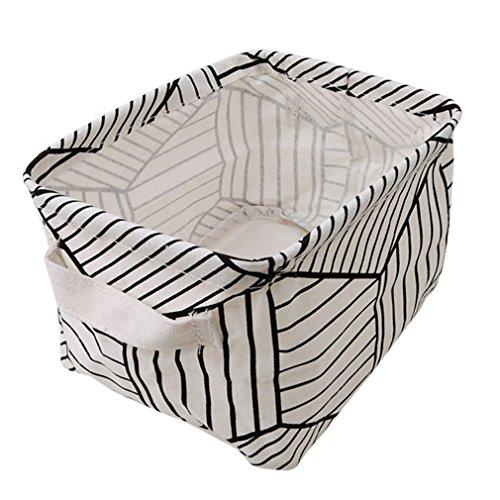 HENGSONG Kreativ Praktische Aufbewahrungsbox Korb Kosmetik Koffer Make-up Tasche Spielzeug Ablagebox Desktop Organizer für Haus Kinderzimmer Büro Aufbewahrung (Stil 2)