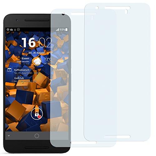 mumbi Schutzfolie kompatibel mit Huawei Google Nexus 6P Folie klar, Displayschutzfolie (2x)
