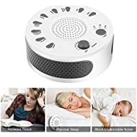 Weißes Rauschen Maschine Sleep White Noise Maschine mit 9 Beruhigende Natürliche Sounds Sleep Helper mit Timer-Option... preisvergleich bei billige-tabletten.eu