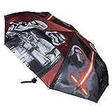 Disney Star Wars Regenschirm Taschenschirm Schirm faltbar rot *NEU*OVP*