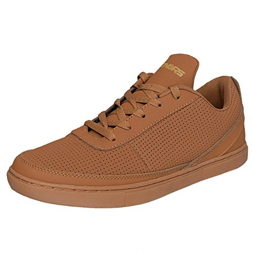 Dangerous DNGRS Uomo Scarpe / Sneaker Perforated Marrone
