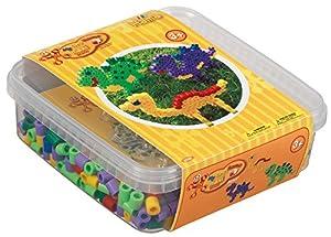 Hama 8742 Tube Bead Multicolor 600 Pieza(s) - Abalorios (Tube Bead, Multicolor, 600 Pieza(s), Caja)