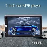 Sedeta® Coche de 7 pulgadas 2DIN pantalla táctil reproductor MP5 Soporte de vídeo estéreo Bluetooth AUX USB TF radio FM