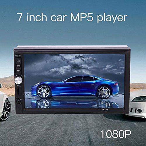 Sedeta Coche de 7 pulgadas 2DIN pantalla táctil reproductor MP5 Soporte de vídeo estéreo Bluetooth AUX USB TF radio FM