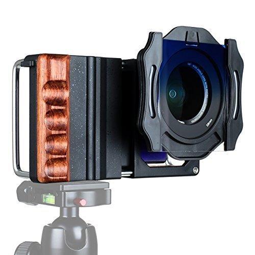TARION® Smartphone-cage C1 Smartphone-Rig mit 2-in-1 Makroobjektiv & Weitwinkelobjektiv und 58mm Verlaufsfiltern für Makrofotografieren und Videoaufnahme