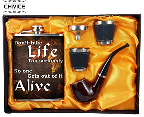 5 in 1 Hip Flask Gift Set  available at amazon for Rs.600