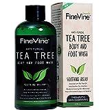 Die besten Body Wash Für acnes - Antifungal Tea Tree Oil Body Wash - Made Bewertungen