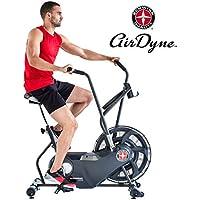 Schwinn Unisex– Erwachsene Airdyne AD6 Fitnessbike, Indoor Cycle, Ganzkörper-Cardio-Workout, grenzenloser Widerstand, leistungsstarker Antriebsriemen, BioDyne Performance, Intervalltraining, Max. Benutzer 136 kg, schwarz, 1 - preisvergleich