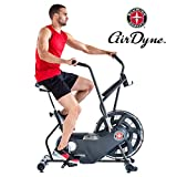 Schwinn Airdyne AD6 Fitnessbike, Indoor Cycle, Ganzkörper-Cardio-Workout, grenzenloser Widerstand, leistungsstarker Antriebsriemen, BioDyne Performance, Intervalltraining, Max. Benutzer 136 kg