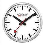 Mondaine Wanduhr Official Railways Clock