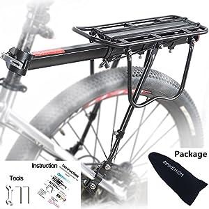51l5EPylnqL. SS300 MAIKEHIGH Universale Regolabile Porta Posteriore per Bicicletta Portapacchi Bicicletta Accessori apparecchiature in…