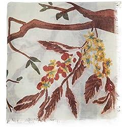 Parfois - Pañuelo Estampado Stone Story - Mujeres - Tallas M - Multicor Neutra