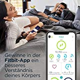 Fitbit Versa 2 - Gesundheits- & Fitness-Smartwatch mit Sprachsteuerung, Schlafindex & Musikfunktion, Schwarz/Carbon - 6