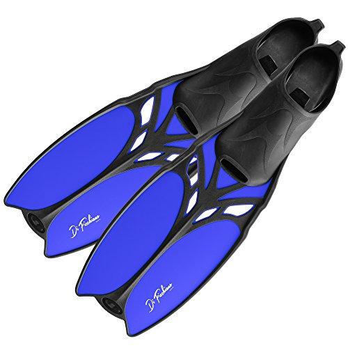 DF-Belize Schwimmflossen lang, blue, 45/47