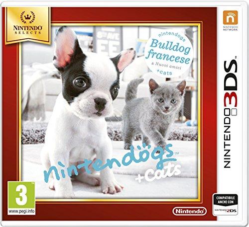 Nintendogs + Cats: Bulldog Francese - Nintendo Selects [Importación Italiana]
