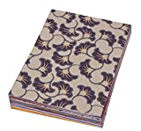 #8: DI-KRAFT Assorted Colour Handmade printed & plain paper in A4 size 150 GSM Set Of 50