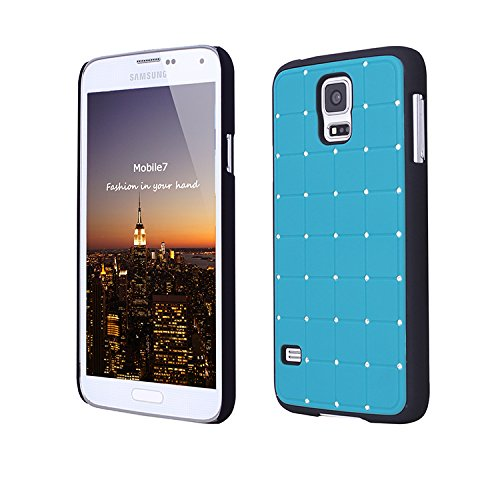 Style Icon Samsung Glaxay S4 Mini LUXURY CRYSTAL Cross Diamond Blue Case Bling Hard Cover with Black Frame For Samsung Glaxay S4 Mini by - Samsung Dock Audio Wireless