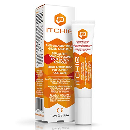 ITCHIE Serum gegen Akne - 100% nachgewiesene Ergebnisse - All-In-One- Akne-Behandlung - Reduziert Rötungen, Flecken und Pickel - Beruhigt gereizte Haut - Stoppt und verhindert Juckreiz