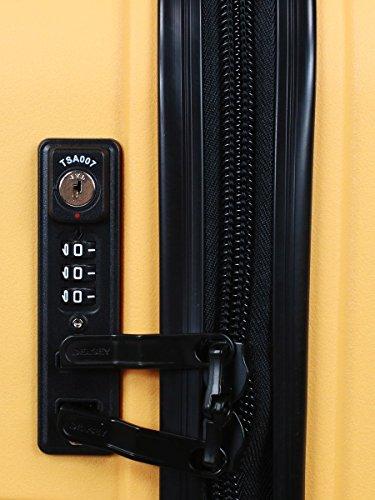DELSEY PARIS BELMONT Valise, 76 litres, Jaune - 5