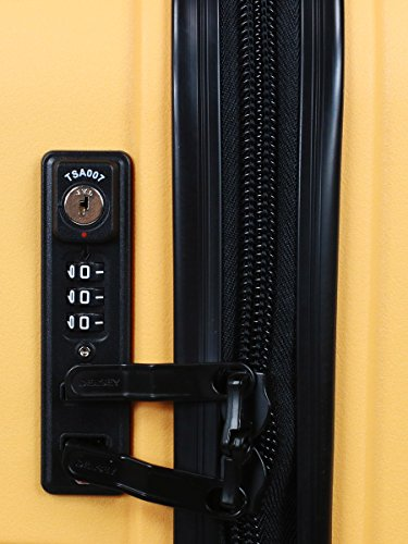 Delsey Koffer, gelb (Gelb) - 384080305 - 4