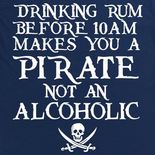 Drinking Rum T-Shirt, Herren Dunkelblau