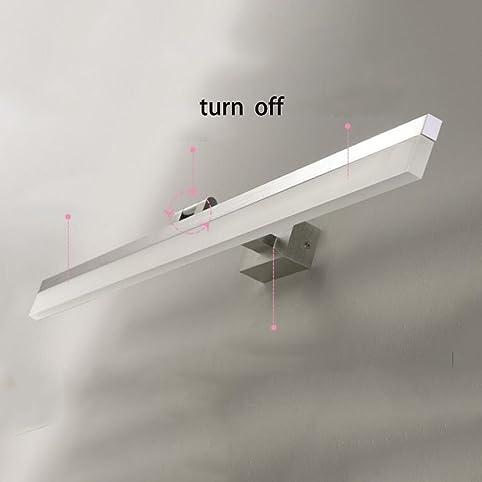 LED Spiegel Frontlicht Badezimmer Spiegelleuchten Bad Make Up Kommode  Toiletten Spiegelleuchten (Lampe Ist