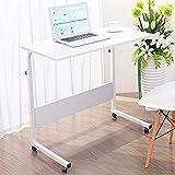 Tabelle LHA Höhenverstellbarer Stehpult, seitlicher Kurbelgriff Table (Farbe : Weiß, größe : 0.6m)