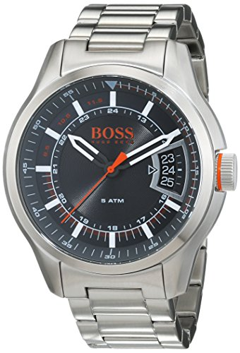 1d7dbd6cca51 Hugo Boss Orange Hong Kong Mens Quartz Analogue Classic Silver Stainless  Steel Bracelet 1550004