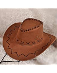 Multicolor Western Cowboy Hat Summer Mode Big Eaves Les Amateurs De Soleil Plage Accessoires Performance