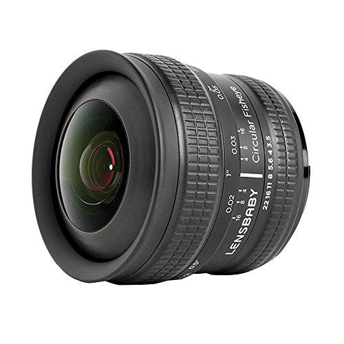 fisheye nikon Lensbaby Circular Fisheye-Objektiv für Nikon F