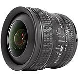 Lensbaby Circular Fisheye - Objetivo para Nikon (5.8 mm, f/3.5) color negro