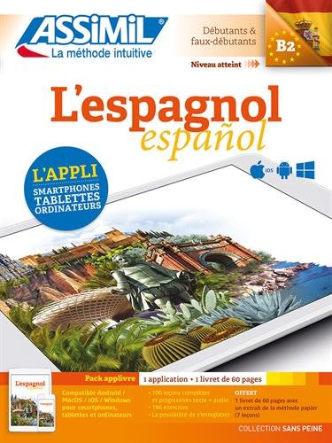 Pack App-livre Espagnol (appli+1 livret)