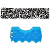 Spares2go Filtro de esponja de doble capa + filtro de parrilla de carbono para aspiradora Samsung