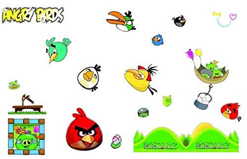 r Set Angry Birds für das Kinderzimmer ()