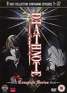 Death Note - The Complete Series (9 Dvd) [Edizione: Regno Unito] [Import italien]