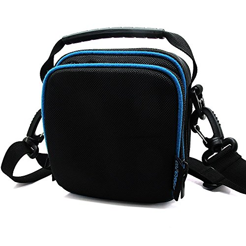 co2CREA Soft Carry Storage Travel Case Bag for Logitech Ultimate Ears UE ROLL 360 Ultra-Mobile Waterproof Wireless Bluetooth Speaker Fits Power Adaptoer and USB Cable  available at amazon for Rs.2299